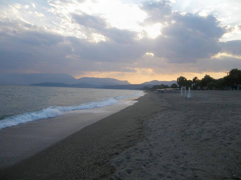 aeolos hotel mavrovouni the beach general view